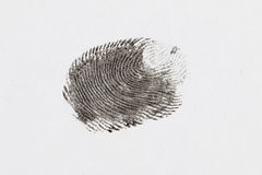 Finger print. Royalty Free Stock Images