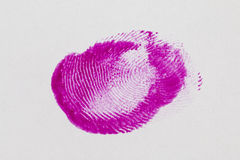 Finger print. Stock Image