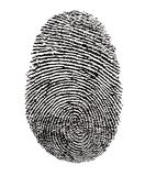 Finger Print ID Security Stock Image