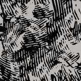 Finger Print Monochrome Seamless Pattern. EPS10 Vector Stock Photos