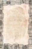 Finger prints Stock Images