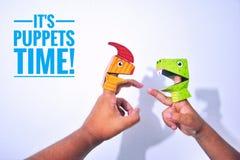 Finger puppet Stock Photos