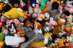 Finger Puppets Royalty Free Stock Photography