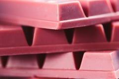 Finger Ruby Chocolate Bar arkivbild