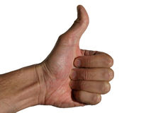 Finger singen Lizenzfreies Stockfoto