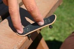 Finger skateboard Stock Images