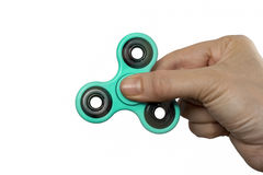 Finger spinner royalty free stock images