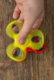Finger spinner stock image