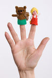 Finger Toys Royalty Free Stock Image