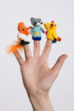 Finger Toys Stock Photography
