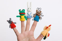Finger Toys Royalty Free Stock Photo