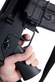 Finger on the trigger Royalty Free Stock Photo