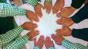 Finger von Kindern Stockbild