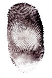 Fingerabdrücke Lizenzfreies Stockfoto