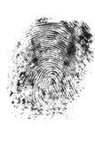 Fingerabdruck 2 Lizenzfreies Stockfoto