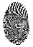 Fingerabdruck. stock abbildung