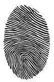 fingeravtryck Fotografering för Bildbyråer
