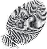 fingeravtryck 7 Fotografering för Bildbyråer
