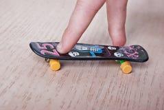 Fingerboard Royalty-vrije Stock Afbeelding