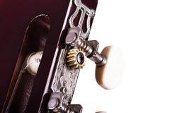 Fingerboard of Classic Guitar Stock Photos