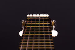 Fingerboard of Classic Guitar Royalty Free Stock Photography