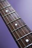 Fingerboard da guitarra fotografia de stock