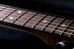 Fingerboard da guitarra Fotos de Stock Royalty Free