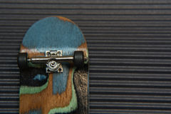 Fingerboard on dark background Royalty Free Stock Photography
