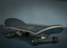 Fingerboard on dark background Royalty Free Stock Image