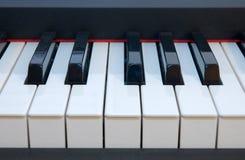 Fingerboard del piano Fotografía de archivo libre de regalías