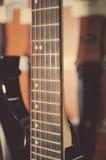 fingerboard elektryczna gitara Zdjęcie Royalty Free