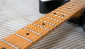 Fingerboard fretboard Stock Photo