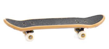 Fingerboard  on white. Background, close-up Stock Images