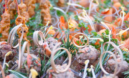 Fingerfood Royalty Free Stock Images