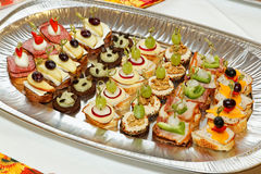 Fingerfood Lizenzfreies Stockbild