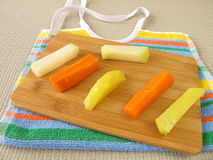 Fingerfood for babies Royalty Free Stock Photography
