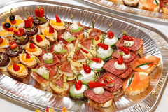 Fingerfood Royalty Free Stock Image