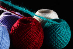 Fingering yarn Stock Photography