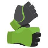 Fingerless Gloves Illustration Isolated On White Background Stock Photography