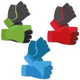Fingerless Gloves Illustration Isolated On White Background Royalty Free Stock Photography