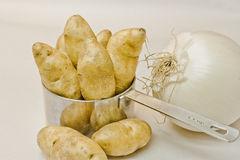 Fingerling Potatos Stock Photos