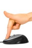 fingermus Fotografering för Bildbyråer