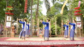 Fingernageldans i chiangmaien Thailand Royaltyfria Bilder