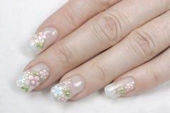 fingernail Royaltyfri Bild