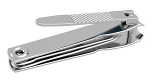 Fingernail Clipper, Side_Raster Royalty Free Stock Photography