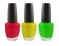 Fingernail polish Royalty Free Stock Photo