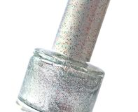Fingernail  on white Royalty Free Stock Images