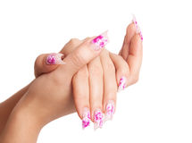 Fingernails Stock Image