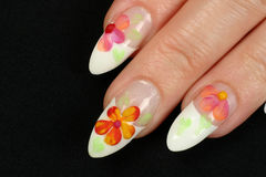 Fingernails Stock Image