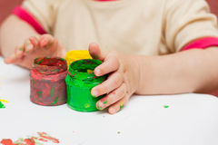Fingerpaint Photos stock